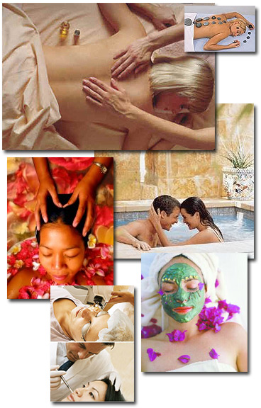 Spa and pampering vision board