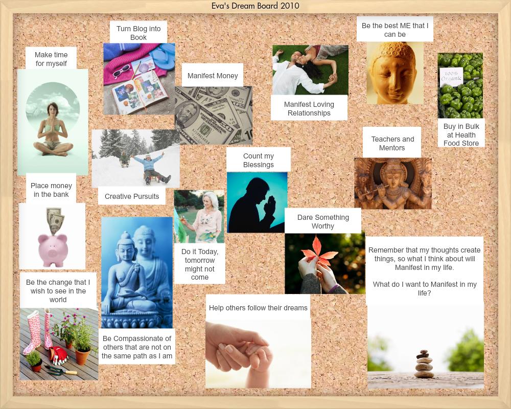 My 2010 Vision Board