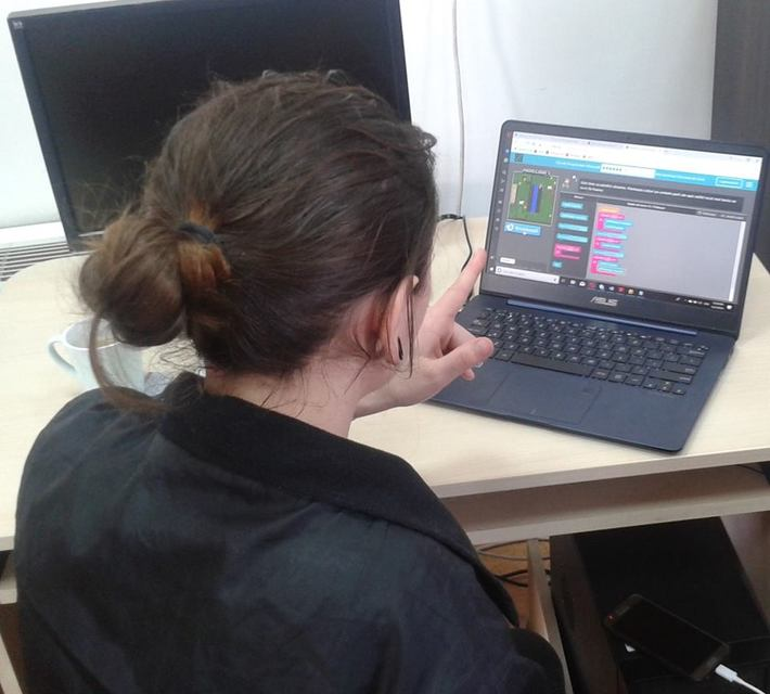 Minecraft interactive sessions at County Library Octavian Goga Cluj