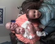 My nieces and me