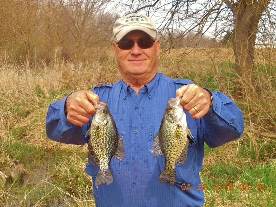 4/26 JOE WITH A COUPLE CRAPPIES