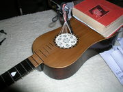baroque guitar rose