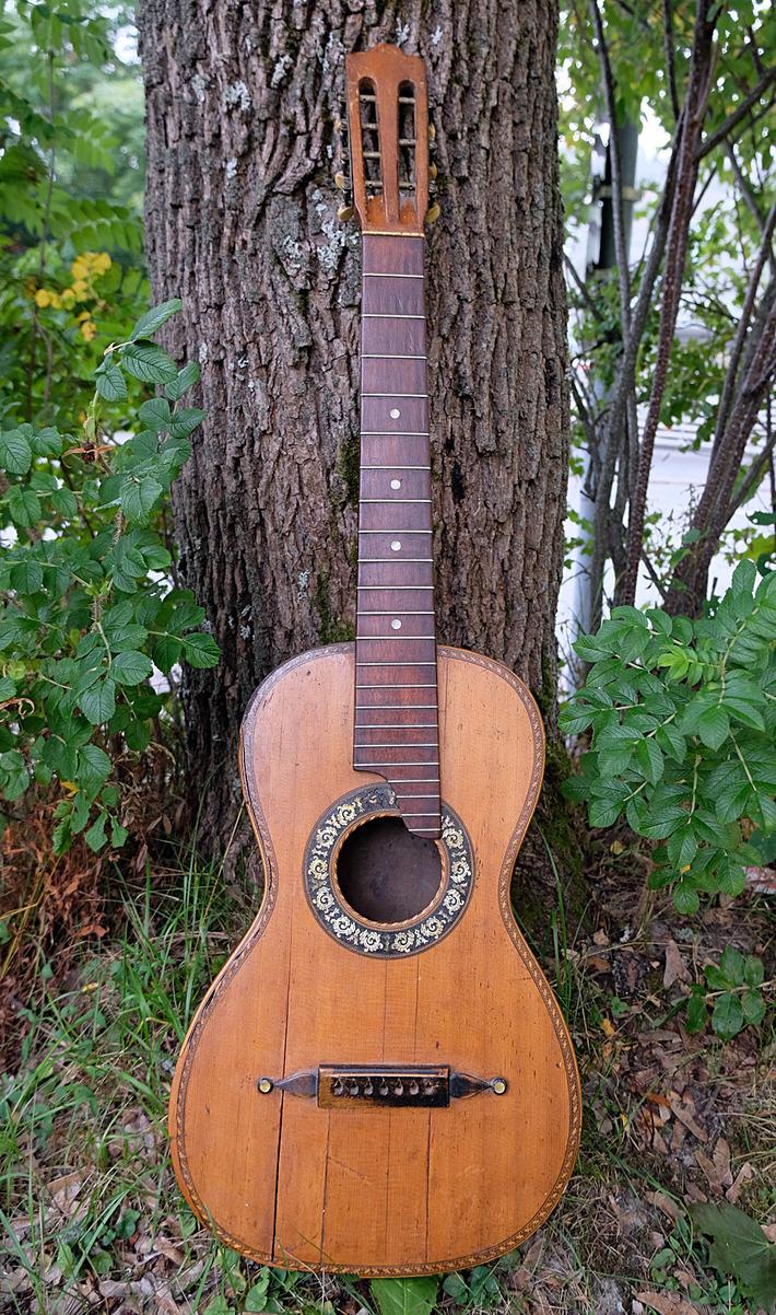 Mysterious guitar?