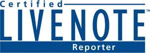 Certified LiveNote Reporter