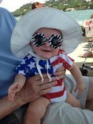 Lola Grace on July 4th, 2013