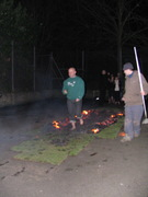 Guy firewalk