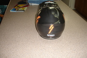 billys new race helmet