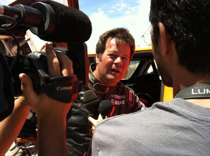 2012 Dakar Stage 8 Robby Gordon
