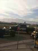 Robby At California Speedway - Nascar 3-23-14
