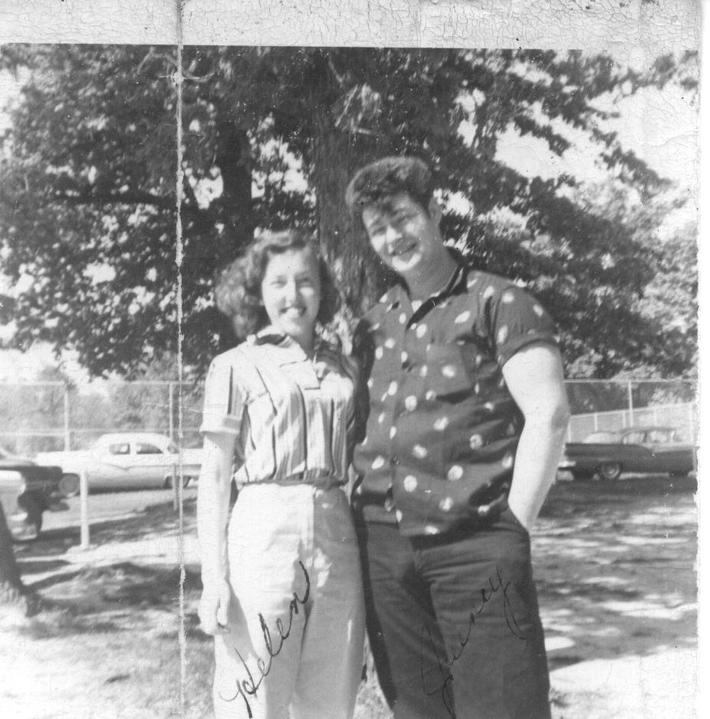 Mom and Dad  in 1957