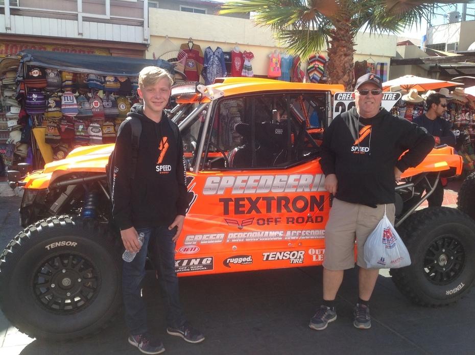 Skyler 1st Baja Race - 50th Baja 1000
