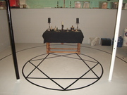 Creation of Magick Circle and Thelemic Star