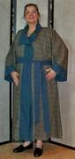 Victorian Steampunk Dressing Gown Robe