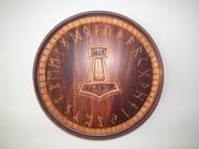Runic Naming Plate