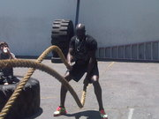 Cheik Kongo - Battling Ropes