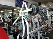 Hammer Strength Lat Pulldown w/ bands