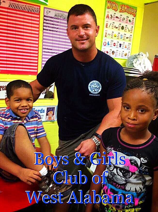 Service Work At Local Boys & Girl Club