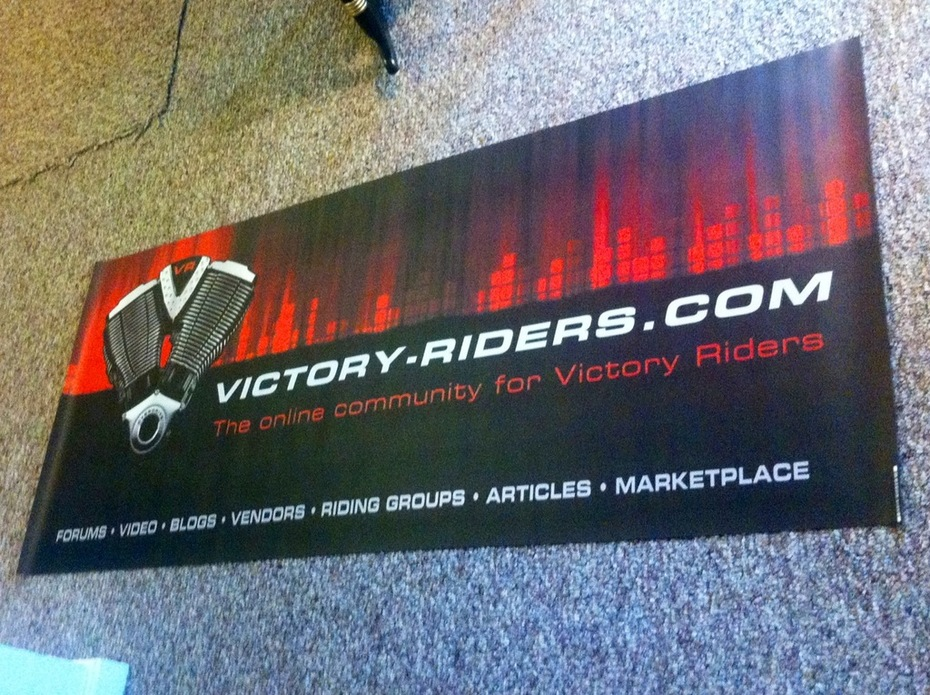 Look for this banner at the AVR!