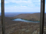 Reservoir from top of Firetower