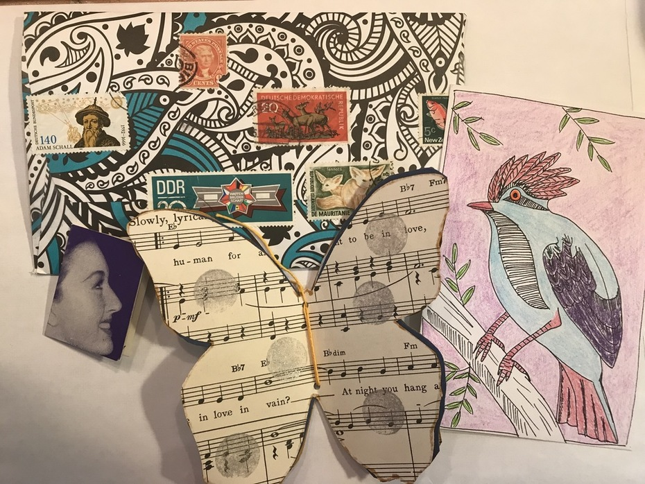 Mail art from Amy Candiotti
