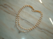 Gold N Pearl Necklace