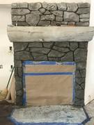 Fireplace carve