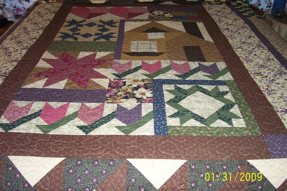 Thimbleberries 2007 House and Garden Quilt
