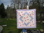 Baby quilt for Sue