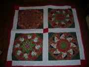 Kitty Christmas Quilt
