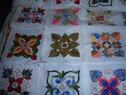 4 applique squares