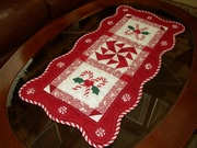 Candy Cane Table runner