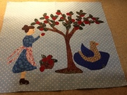 2nd block of Sweet and Simple Quilt