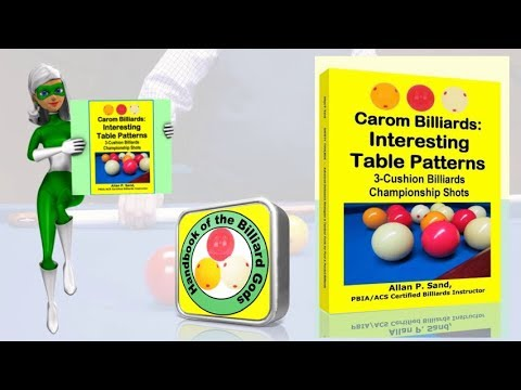 Book video for Carom Billiards: Interesting Table Patterns