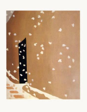1123~Black-Door-with-Snow-Posters