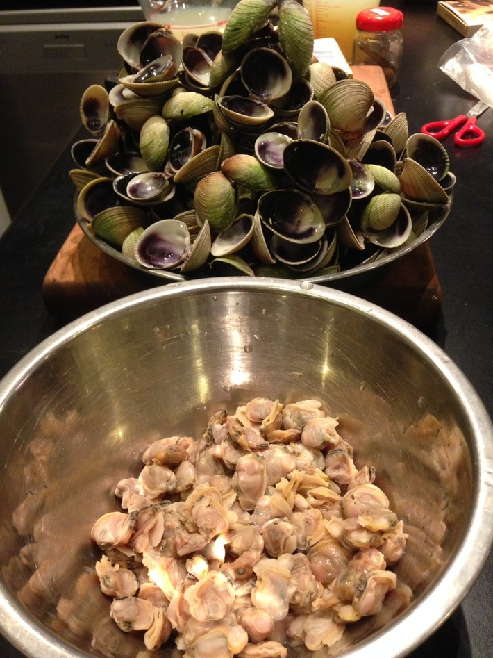 Riverton clams