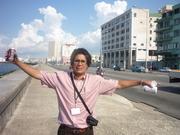 Libre en el malecón de La Habana