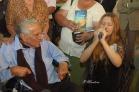 alondra canta para para su padre espiritual el Doctor Juan Guillermo Ortiz Guier, premio mundial de medicina