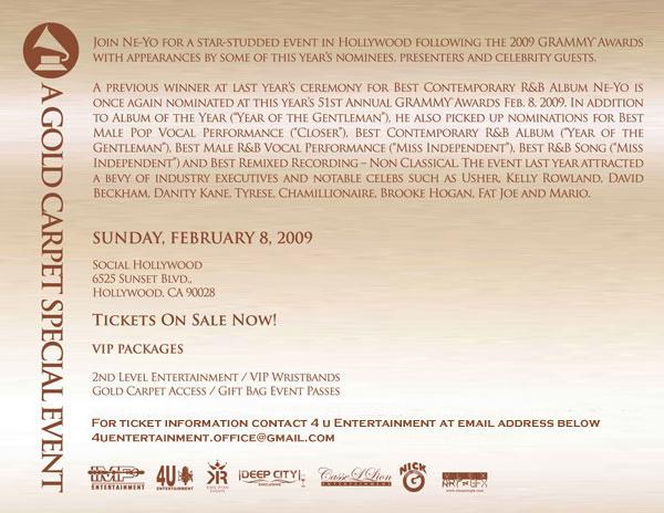 Ne-Yo Grammy 09 bck