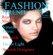 Molly malakias inMBQ World Press mag cover