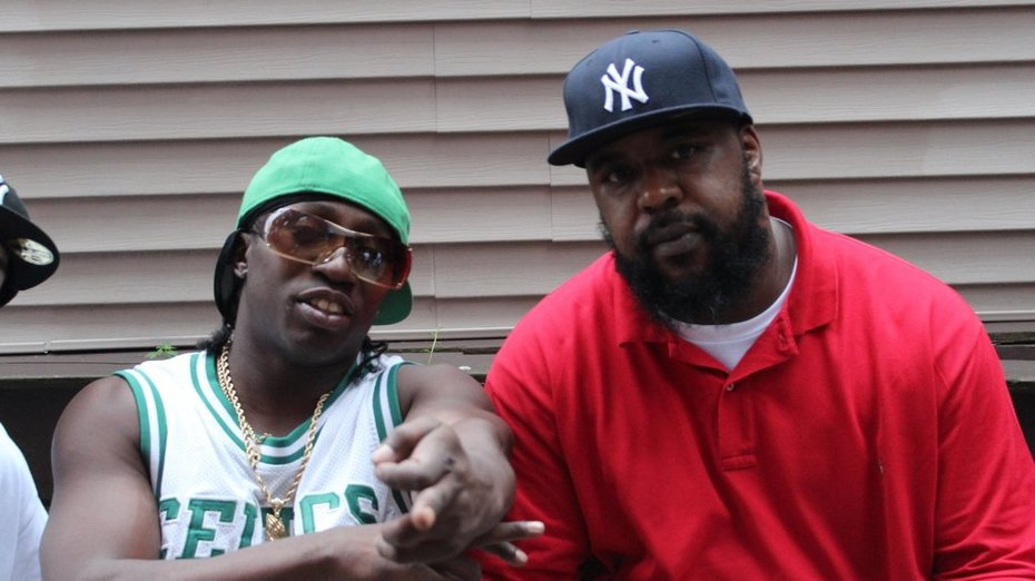 CHILLING WITH THE HOMEYS DIZZY DIZASTER AND SEAN PRICE OF DUCK DOWN ENT!!!
