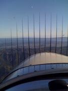 Bizarre iPhone photo in flight