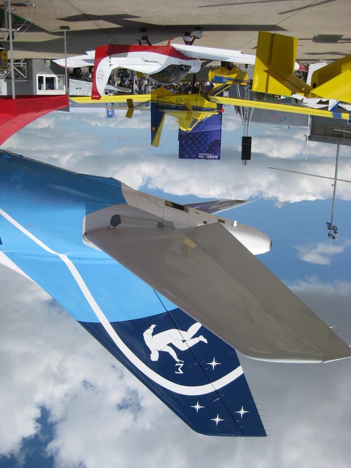 Paris Airshow 650E