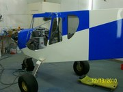 CH 750 in the paint booth