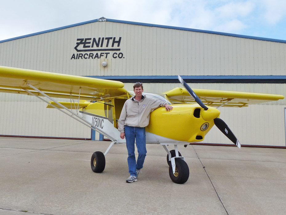 Zenith's new STOL CH 750 demo aircraft