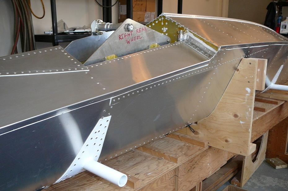 Zenair 1450 Amphib Float Main Gear