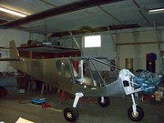 STOL CH 750 fuselage assembly on gear