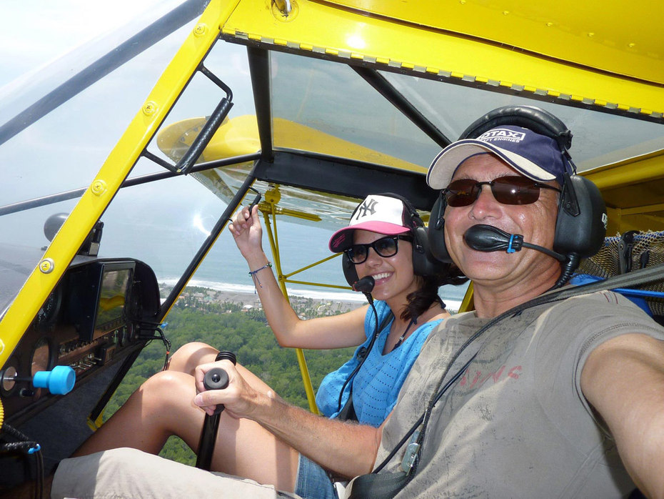 STOL Fun Flying with the Doors Off