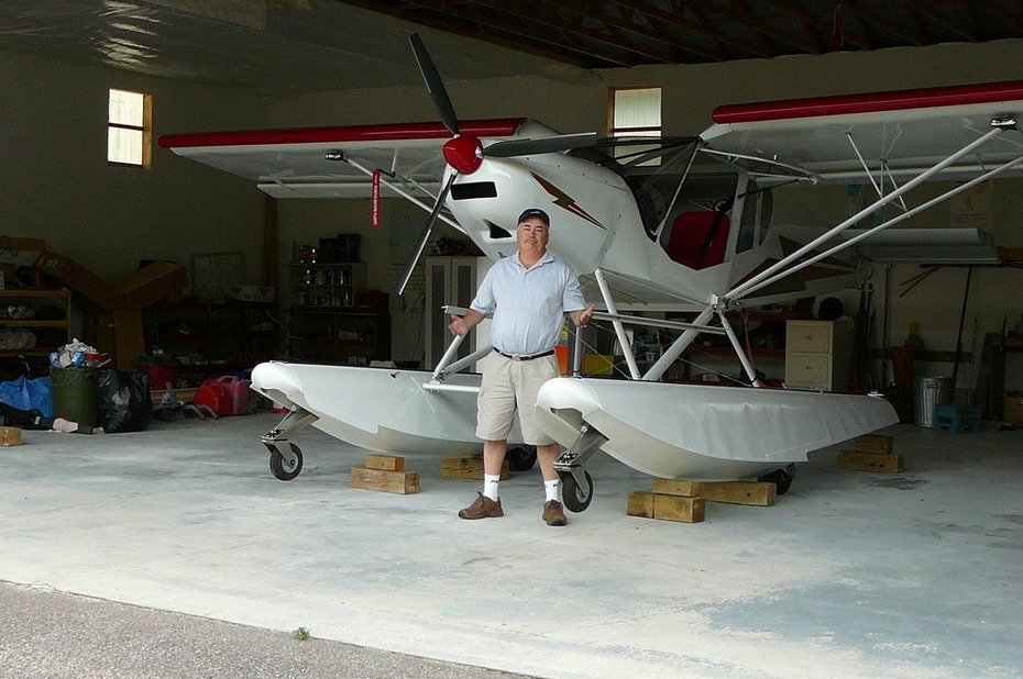 GROUNDED BY INSTALLING ZENAIR FLOATS - Zenith Aircraft