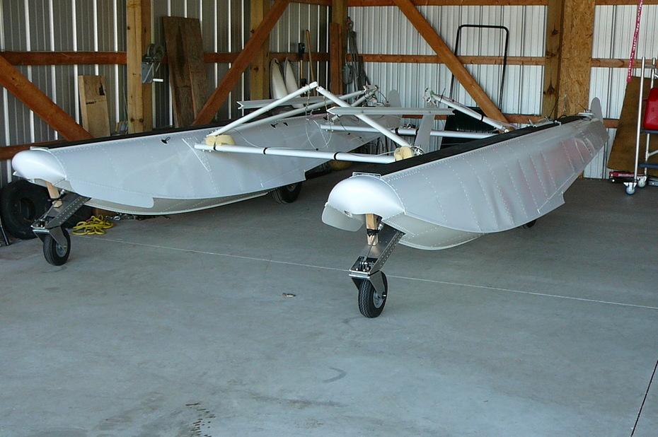 Zenair 1450 Amphibian Floats