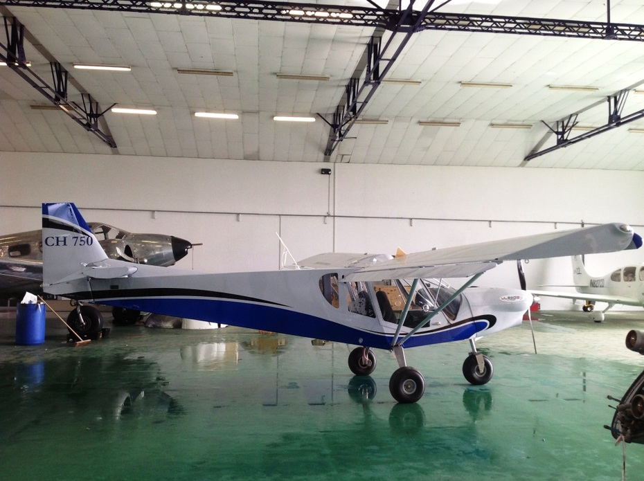 Zenair CH 750 STOL peinture Barge Aviation (2)'